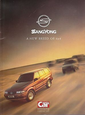 SsangYong 4x4 Information Brochure from 1997