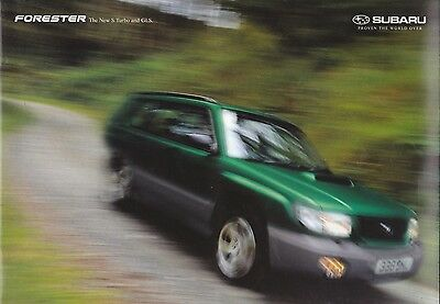 Subaru Forester (New S Turbo and GLS) Brochure - 1997