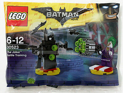 The Lego Batman Movie JOKER BATTLE TRAINING Set 2017 Polybag 30523 Minifigure
