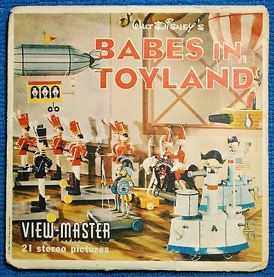 Babes in Toyland Complete 3-reel Set B375 - Sawyers View-Master S5