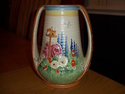 """EXTREMELY RARE 1930s ROYAL WINTON """"DOVECOTE"""" HANDPAINTED VASE - DOVE SHAPE @WOW@"""