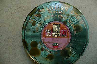 Vintage His Masters Voice Record or Gramophone Cleaner