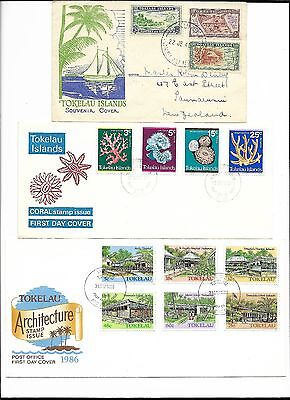 Tokelau Islands Cover collection. 27 Covers