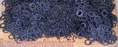 Jump Flat riveted chainmail ring 9mm or 10 Mm 1000 pcs baged