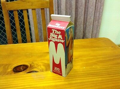 Vintage Big M Jigsaw Puzzle. Collectable. Pin Up. Promotional. 1983