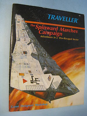 TRAVELLER The SPINWARD MARCHES CAMPAIGN. GDW Games Designers' Workshop Desigers