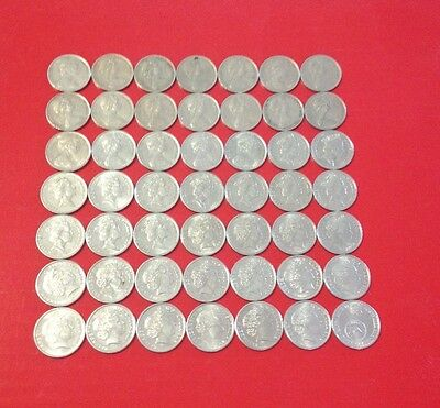 5c - Australian 5 cent coin collection - set 1966 - 2016 -Circulated