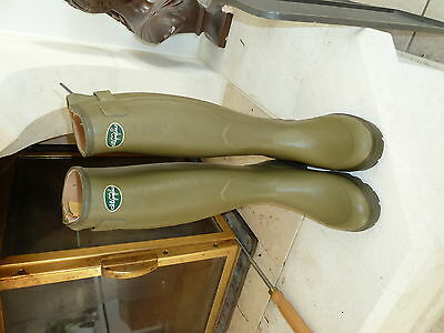 Boots Le Chameau Chasseur Leather Lined Size 5
