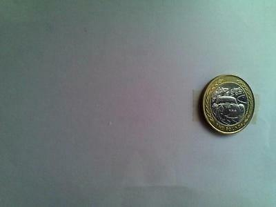 Isle of Man  £2. coin with veteran car rally on reverse side.