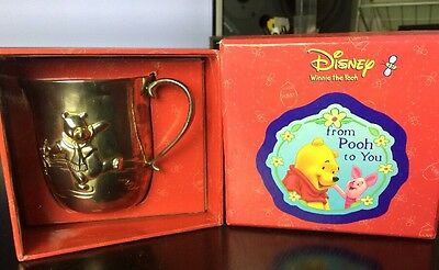 Disney Winnie The Pooh Silver Plated Gift Cup