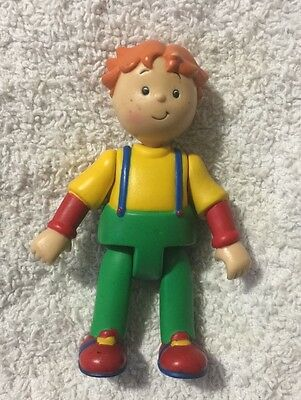 Leo Action Figure Caillou TV Show PBS Kids Treehouse Posable 3 inches tall