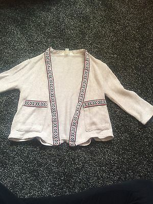 Baby Girl River Island Cardigan Size 6-9 Months