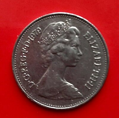 Five New Pence Coin 1979