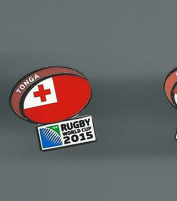 Rugby World Cup Rugby Union Badge No 1 Tonga