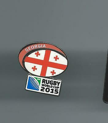 Rugby World Cup Rugby Union Badge No 2 Georgia