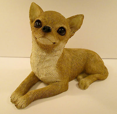 "Sandicast Fawn CHIHUAHUA - OS116 - 8"" long"