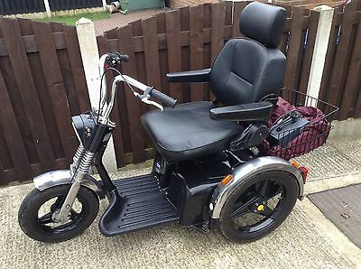 TGA Sportster Mobility Scooter 8 MPH With Suspension With User Manual