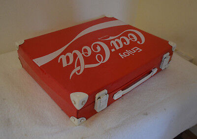 Collectable Vintage Red Coca-Cola Briefcase