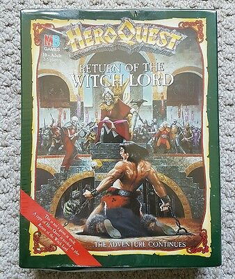 HeroQuest Return of the Witch Lord expansion pack