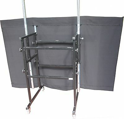 Ultimax 1.2m/4ft DJ stand replacement curtain / cloth