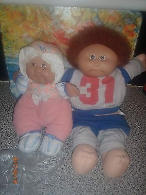 cabbage patch kid & baby