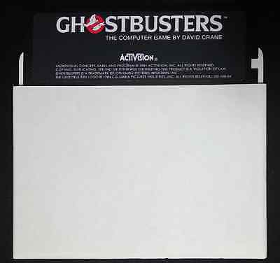 """Ghostbusters C64 Game Floppy 5,25"""""""