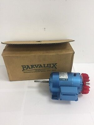 New Parvalux 100w SD28 AC Electric Motor Single Phase 2900RPM 2-Pole 220/240vAC