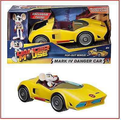 "Danger Mouse ""Danger"" Car with ""Exclusive Danger Mouse"" Figure"