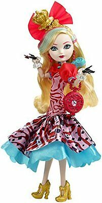 Way Too Wonderland - Ever After High Apple White Doll   - New