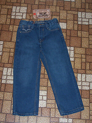 Authentic Denim Vintage Brass Jeans Boys or Girls 4T New with Tags NWT