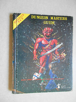 ADVANCED DUNGEONS AND DRAGONS DUNGEON MASTERS GUIDE - HB Revised Ed 1979 - AD&D
