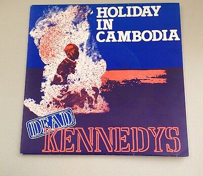 "Dead Kennedys - Holiday In Cambodia - Cherry Red Records 7"" Vinyl"