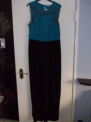 Womens all in one/playsuit by George. Size 14. New with tags.