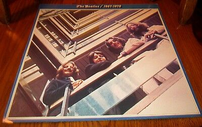 "THE BEATLES 1967-1970 12"" x 12""  PROMOTIONAL FLAT PROMO POSTER"