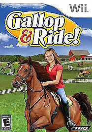 Gallop & Ride WII Action / Adventure (Video Game)