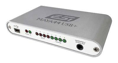 ESI MAYA44 USB+ (Portable 4-In/4-Out USB Audio Interface)