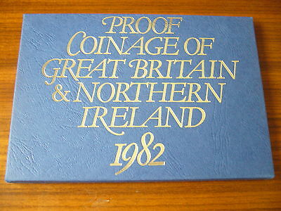 Royal Mint 1982 Coinage Of Great Britain And Northern Ireland Set