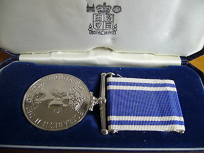 Police Long Service And Good Conduct Medal To Ch.inspec.john.b.tyrell