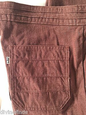 Vintage Men's Early 1970s Levi's Brown Cord Flare Pants 34 x 34