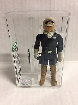 Star Wars Han Solo Dark Tan Pants Hoth Outfit Afa U85 Kenner Vintage Rare Pop 1!