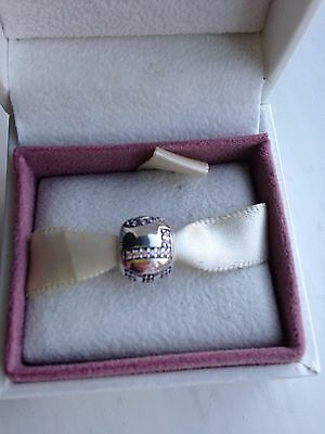 Pandora Sterling Silver Surrounded by Love Pink CZ - 791196PCZ