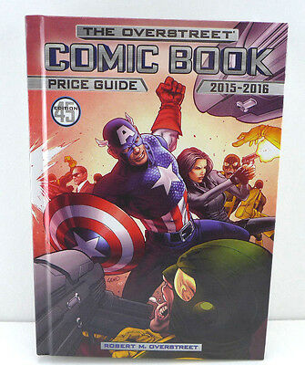 Overstreet Comic Book Price Guide 2015-2016 45 Edition! Capt America Cover NEW!!