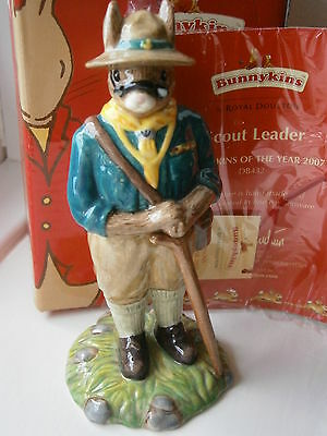 Baden Powell Scout Leader year of the Scout 2007 Royal Doulton Ceramic Bunnykins
