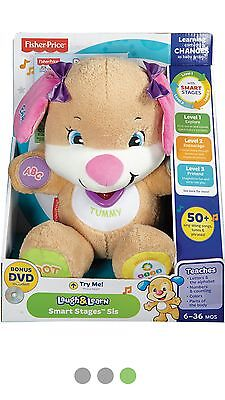Fisher Price Laugh and Learn Smart Stages Sis Kids Baby Educational Stuff Toy