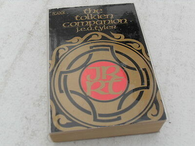 THE TOLKIEN COMPANION 1977 paperback edition by J.E.A Tyler