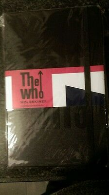 The Who..Moleskine Note Pad
