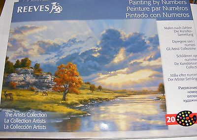 Reeves Painting by Numbers The Artists Collection