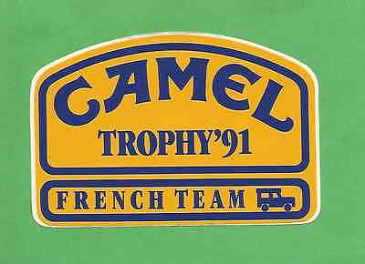 Autocollant Camel Trophy'91 - French Team
