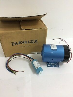 New Parvalux 190w SD12 AC Electric Motor Single Phase 4000RPM W07785 230/250vAC