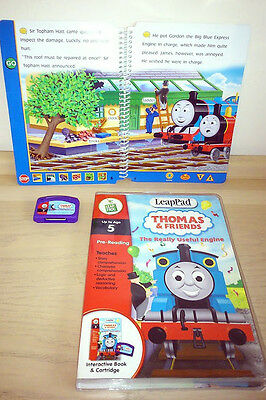 Thomas The Tank Engine LeapPad Interactive Book and Cartridge